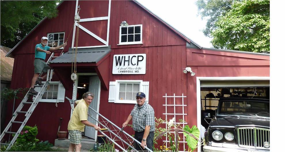 WHCP BARN RAISING